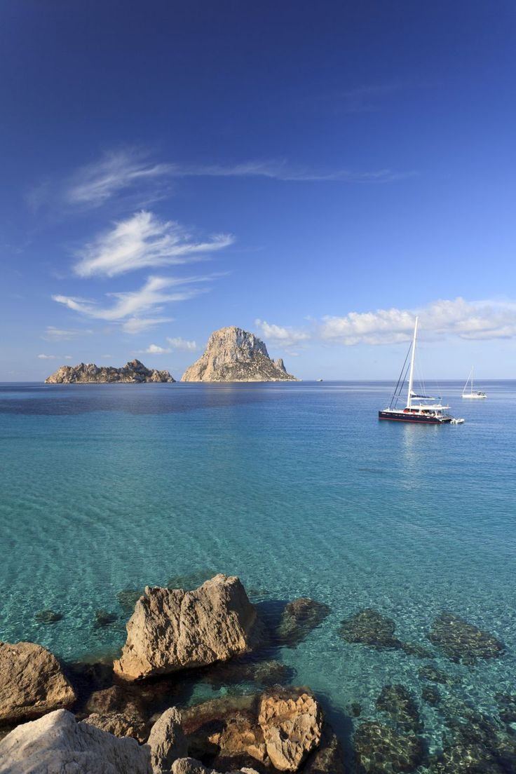 Cala D'Hort, en Ibiza  A happy place.  http://www.drdebcarlin.com/focus-on-happiness-for-one-week/