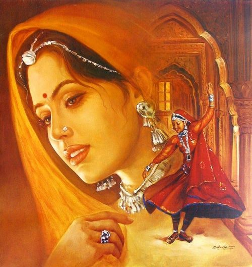 Индия - картины на тему Бхагавата Пураны (66 работ)