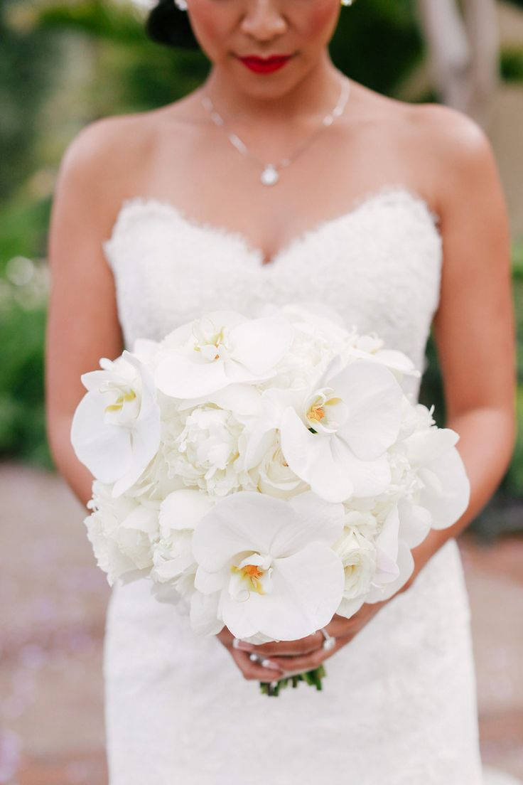 #Orchid bliss from My Star Event - mystarevents.com. Photography: Alice Hu Photography - alicehu.com  Read More: http://www.stylemepretty.com/california-weddings/2014/07/07/newport-beach-ballroom-wedding/