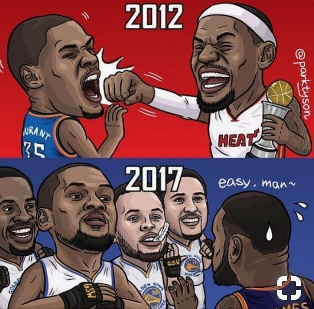 #kevindurant VS #lebronjames  #durant #goldenstatewarriors #goldenstate #warriors #gsw #dubtown #nba #james #lebron #kingjames #clevelandcavs