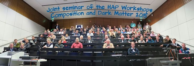 Joint seminar of the HAP Workshops Composition and Dark Matter