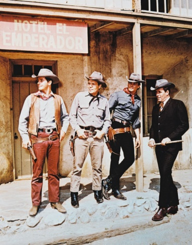 """Laredo"" ~ Neville Brand, Peter Brown, William Smith & Philip Carey 1965-1967"