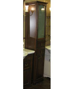 #Мебель для ванной #Opadiris Риспекто-40 Правый с корзиной Нагал Матовое стекло