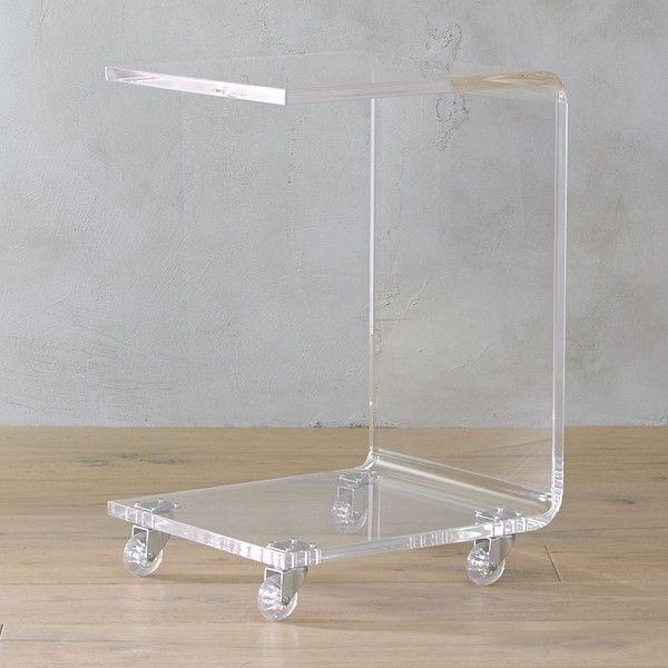Peekaboo Clear Coffee Table: 1000+ Ideas About Acrylic Side Table On Pinterest