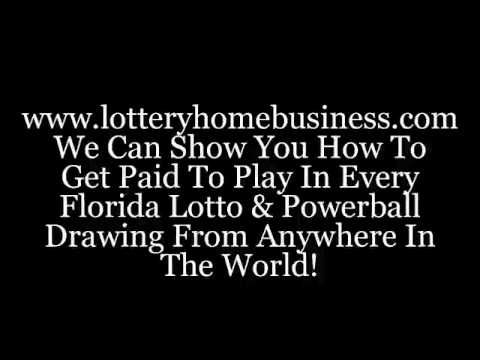 Lotto Magic: Unique Home-Based Business Opportunity In The Network Marketing Industry.