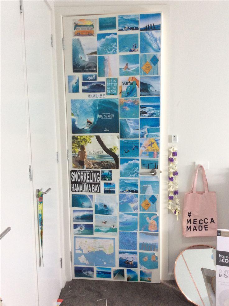 Best 25 surf bedroom ideas on pinterest - Bedroom door decorating ideas ...