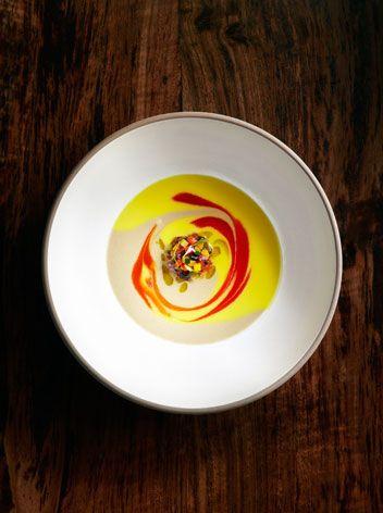 Daniel Patterson's Roasted Eggplant Soup Recipes — Dishmaps