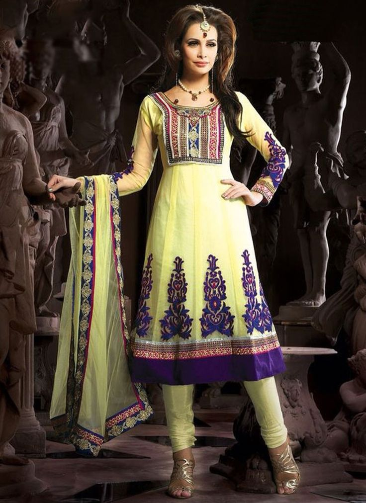 Exceeding Lace Work Anarkali Suit