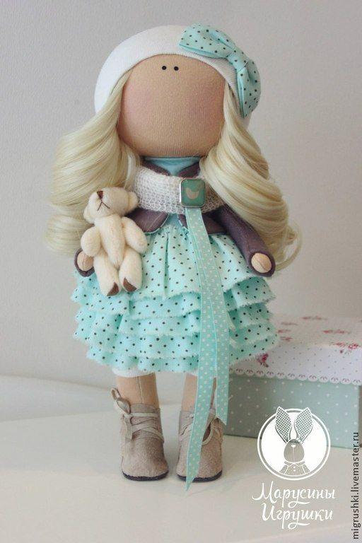 Купить Девочка-малышка - разноцветный, пупс, Пупсик, пупсы, тильда, кукла ручной работы, девочка