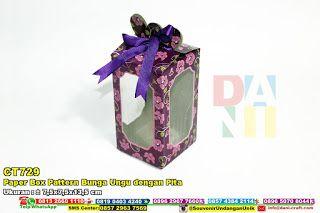Paper Box Pattern Bunga Ungu Dengan Pita WA/SMS/TELP 0896 3012 3779 #PaperBag #PaperBagWarna #PaperBagUnyu #PaperBagUnik #PaperBagMotifBunnga #PaperBagPastel #PaperBagCantik #PaperBagPita #PaperBox #DistributorBox #souvenirMurah