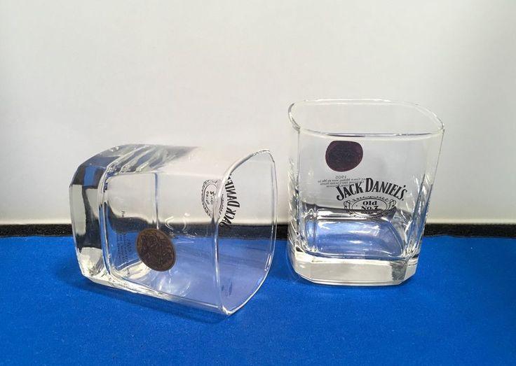 Jack Daniels Glasses Old No 7 Rocks First Gold Medal Liege Belgium Drinking Bar #JackDaniels