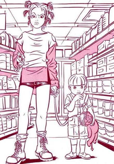 hi-mi-zu: Bambi and Her Pink Gun, Kaneko Atsushi