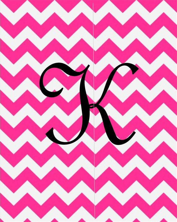 chevron initials wallpaper with o - photo #4