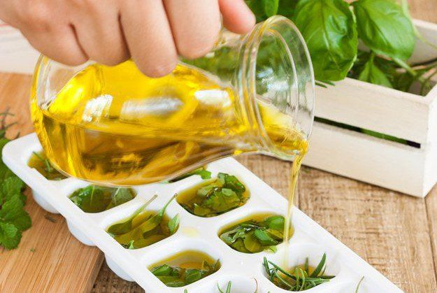 Learn how to freeze herbs in olive oil for long lasting flavor. Freezing herbs is a great way to preserve them. Freezing basil will keep it fresh, here's how