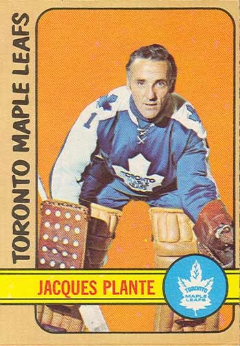 Jacques Plante - I used to have this hockey card