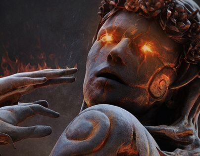 """Check out new work on my @Behance portfolio: """"Statue"""" http://be.net/gallery/47258849/Statue"""