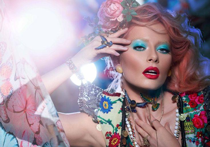 Laura Cosoi. Make-up by Alex Abagiu. #makeup #beautysalon #beauty