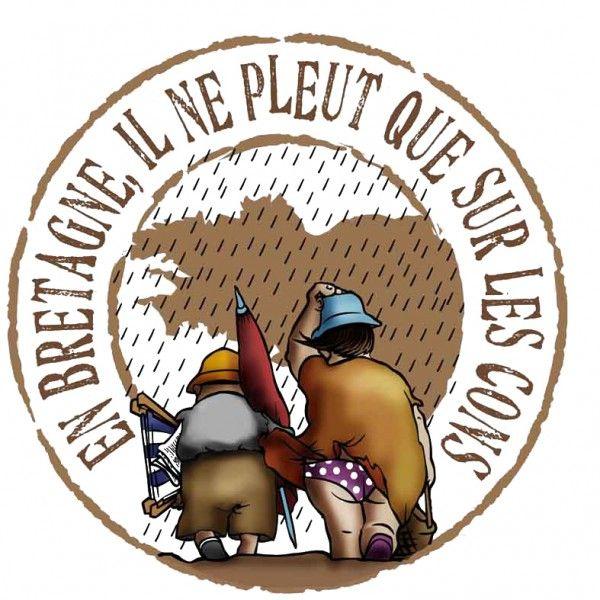 Chope à Bière Bretonne Les Cons
