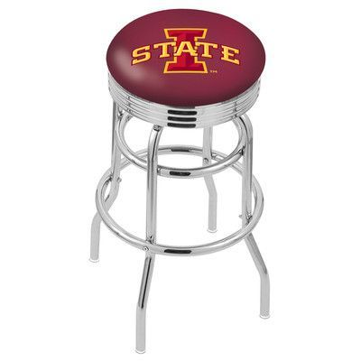 "Holland Bar Stool 30"" Bar Stool NCAA Team: Iowa State"
