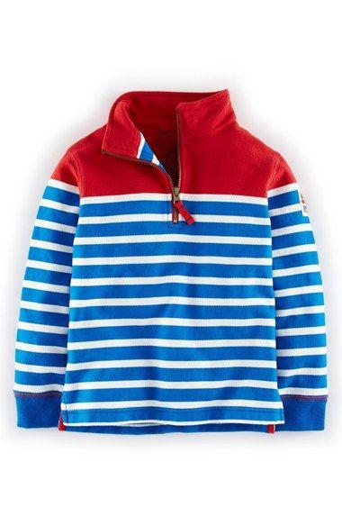 Mini+Boden+Half+Zip+Sweatshirt+(Toddler+Boys,+Little+Boys+&+Big+Boys)+available+at+#Nordstrom