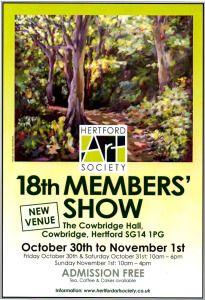 Hertford Art Society 18th Members Show