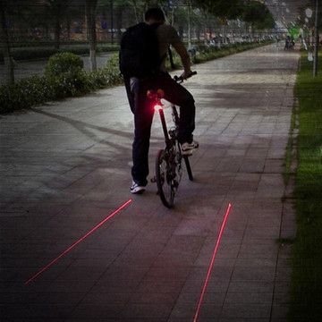 Mflight Laser, $22, now featured on Fab. | cycling gift guide | Pinterest | Design, Bike and Cool stuff