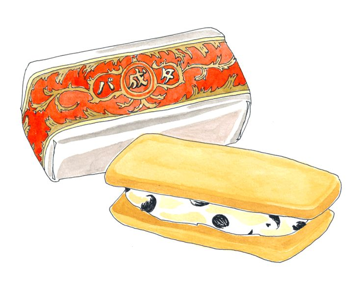なつんこ日記/六花亭のマルセイバターサンド