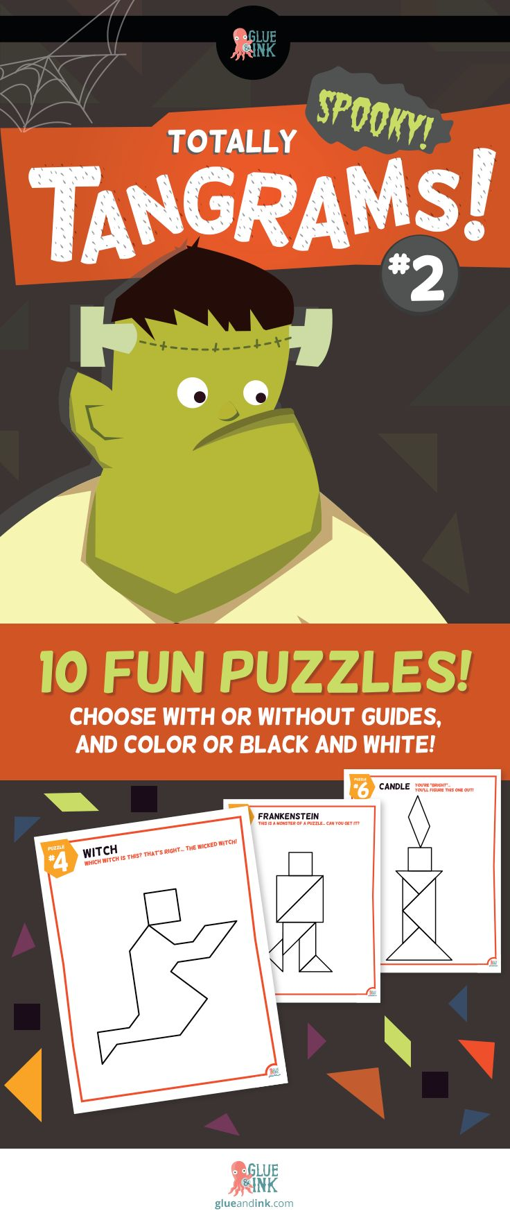 Tangrams – Totally (Spooky!) Tangrams! #2 – Halloween Fun