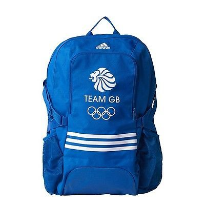 #Adidas team gb 2016 #olympics big logo #backpack - blue,  View more on the LINK: http://www.zeppy.io/product/gb/2/302111053745/