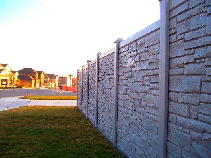 Best images about ecostone rock fencing on pinterest