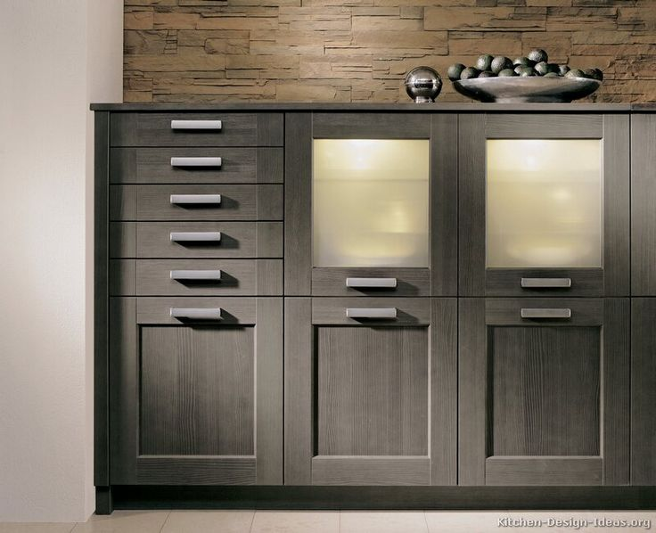 25 best ideas about gray stained cabinets on pinterest for Modern gray kitchen cabinets