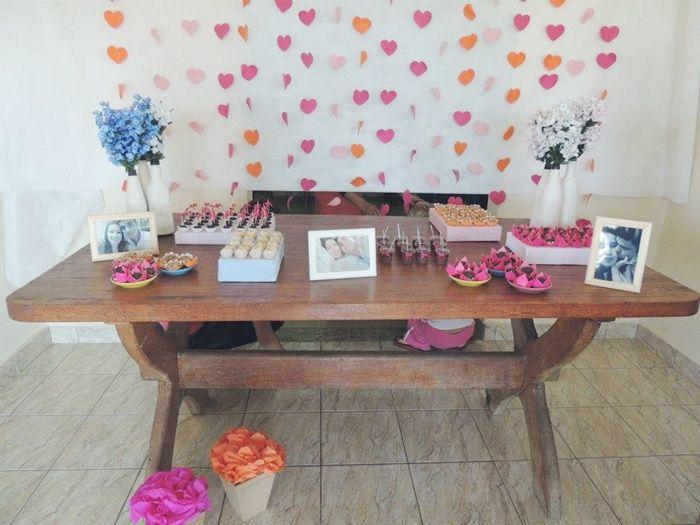 decoracao de noivado azul e amarelo simples : decoracao de noivado azul e amarelo simples:Mesas on Pinterest