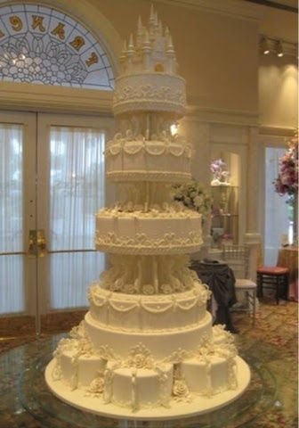 Renaissance Wedding Cake| Cake With Castle| Medieval Wedding Ideas