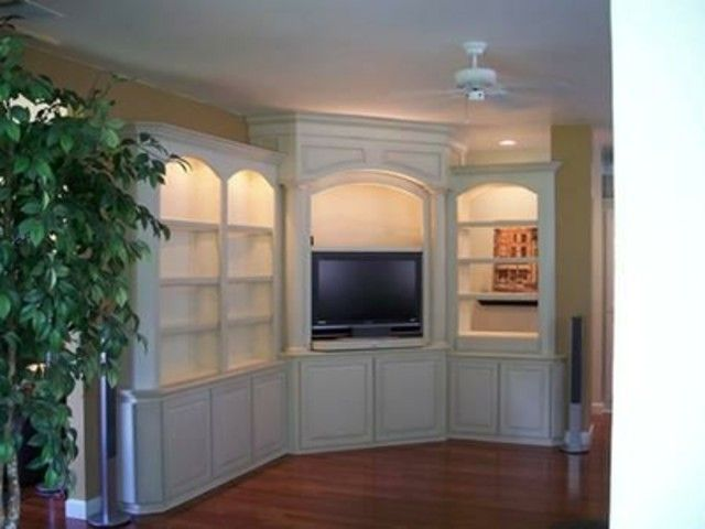 built in corner entertainment center | Built in Corner Theater by Coastal  Wood Masters at CustomMade - 25+ Best Ideas About Corner Entertainment Centers On Pinterest