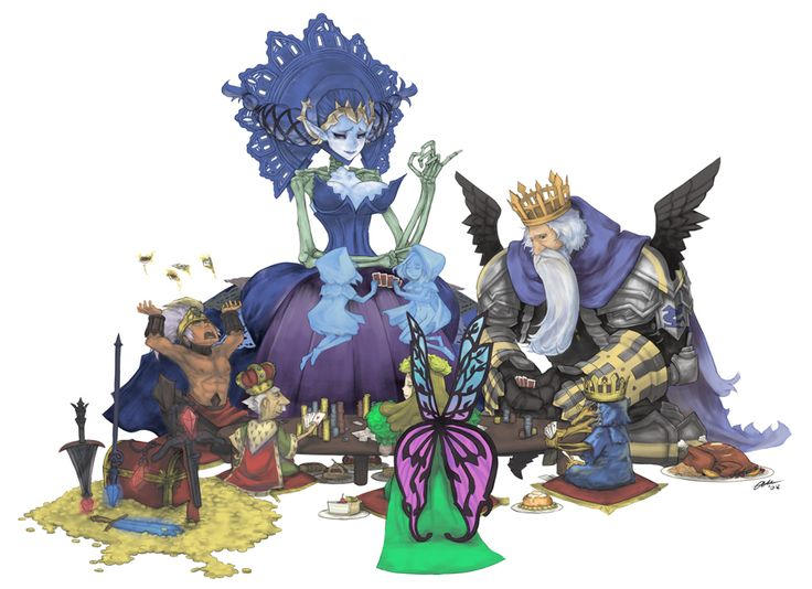 Odin Sphere Kings and Queens by ~blackbookalpha on deviantART