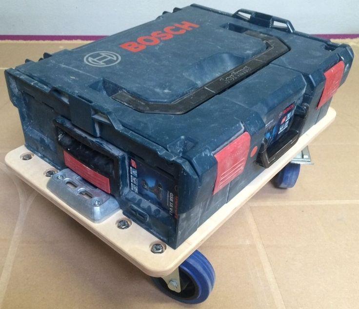 Bosch Sortimo L-Boxx Rollbrett Roller Wagen in Heimwerker, Werkstattausrüstung, Werkzeugkoffer | eBay