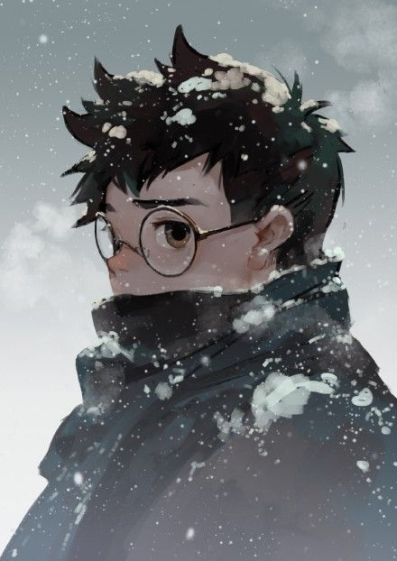 #随涂# 终于降温了。。。。。。。Harry Potter Manga Style