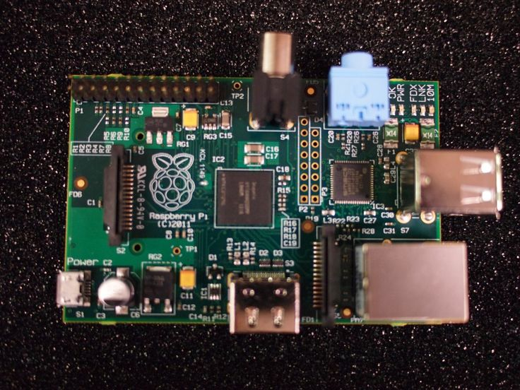 Raspberry Pi model B  This device is, hopefully, going to re-ignite software and hardware development in t he young (and not so young)...