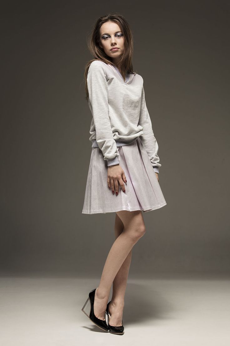 Ewa Bednarska- spódnica i bluza z kolekcji CAMOUFLAGE Spring/Summer 2015