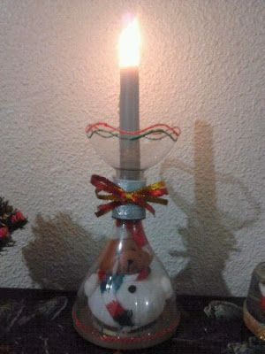 M s de 1000 ideas sobre porta velas en pinterest velas vela de vidrio y manchas - Velas y portavelas ...