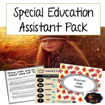 Wanting to make sure you get the most from your paid assistant or Paraprofessional? This pack has professional development with planning, templates, tracking forms, tips, lists and training pointers.