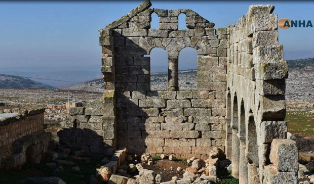 """Kurdish official: Turkish army """"has destroyed five archaeological sites that reflect the history of the region, as well as the Maidanki Dam, they destroying Kurdish historical places like monsters those Mongolian Isis Turks invaders to hid them existence"""