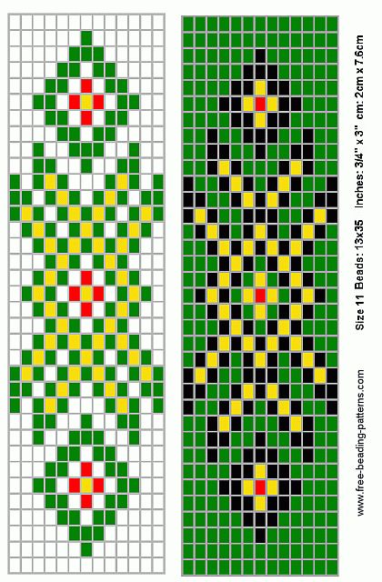 native american beading patterns | barrette-for-native-american-beading-6a3