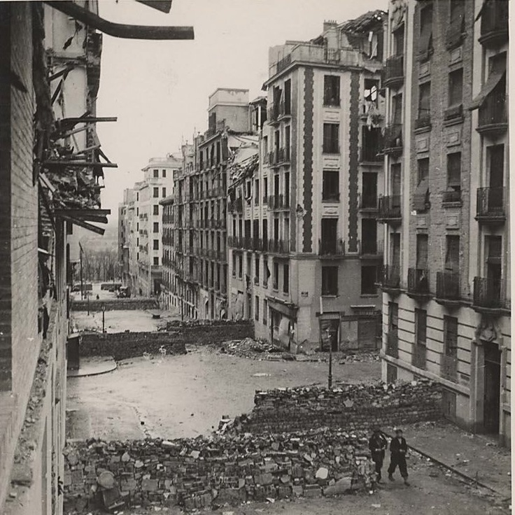 Altamirano, 36; Madrid, durante la Guerra Civil. Archivo Rojo.