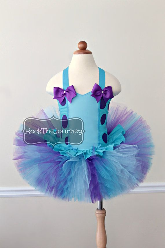 Perfect for Monsters Inc., Sulley Sully Sullivan, Monster and Purple & Turquoise Blue themed birthday parties/events! Colors: Light Turquoise