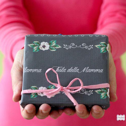 Carta regalo da stampare per la festa della mamma (+card e tag abbinati)