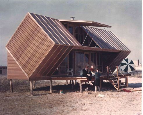 Cube CabinAndrew Geller, Architects, Beach Houses, Long Islands, The Hunting, Fire Islands, Architecture, Beachhouse, Hunting House