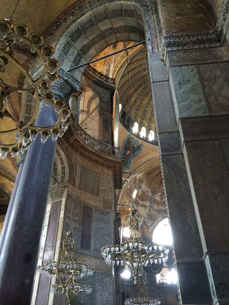Aya Sofya Archway - Istanbul