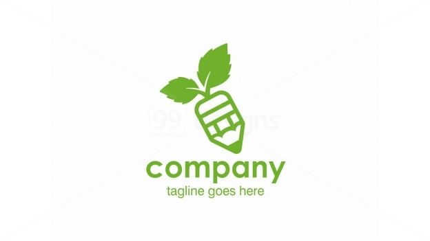 Green Pencil on 99designs Logo Store