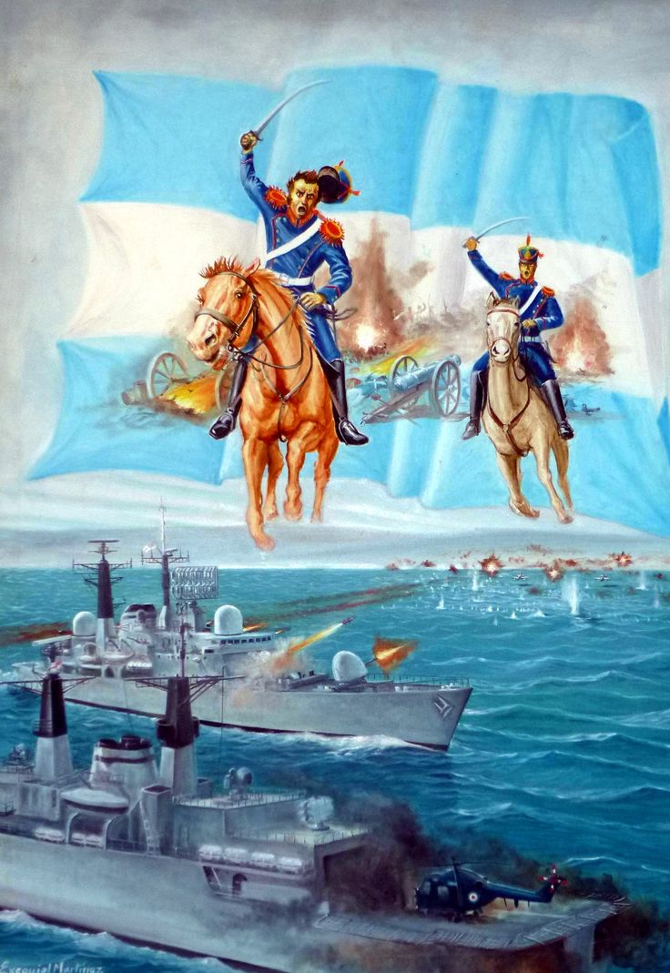 Argentinian allegory of the Falklands War